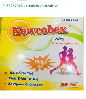 Thuốc Newcobex Ống
