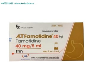 AT. Famotidine 40 INj